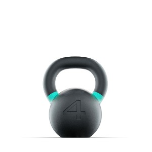 Kettlebell Russian Black 4 kg Russian Black Lacertosus