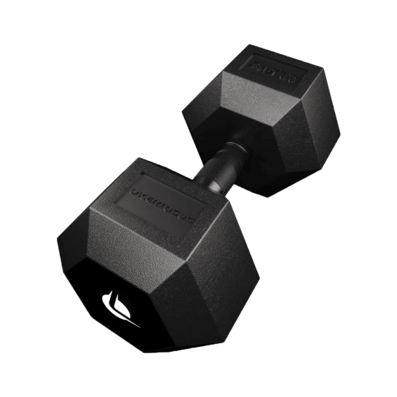 Manubrio PRO HEX Rubber 32.5 Kg Manubri Esagonali (hex)