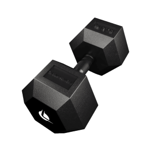 Manubrio PRO HEX Rubber 37.5 Kg Manubri Esagonali (hex)