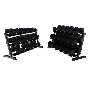 Dumbbells Set + Racks EXTREME 2 - 60 Kg Sets (pair) Lacertosus