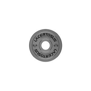 Powerlifting Metal Plate 2.5Kg Plates Lacertosus