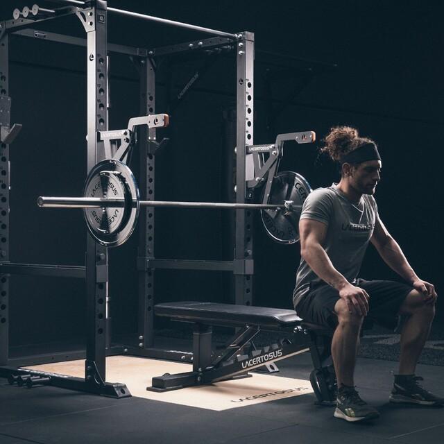 Ganci Monolift con funzione Self-Spotting, lo spotter ideale per il tuo Rack Lacertosus💪🏻🇬🇧 Monolift hooks with Self-Spotting function, the perfect tool for your Lacertosus Rack💪🏻#lacertosus #lacertosusequipment #homegym #garagegym #homeworkout #gym #palestra #fitness #fit #crossfit #crosstraining #functionaltraining #training #bodybuilder #powerlifting #monolift #powerrack #power #rack #pancapiana #panca #bilanciere #dischipowerlifting #pancapiana #bumper #allenamento #allenamentofunzionale #equipment #designinitaly💻Web: www.Lacertosus.com ✉Preventivi e informazioni: info@lacertosus.com 🚚Trasporti attivi in tutta Italia ed estero ➡️Taggaci nelle tue foto @lacertosus_equipment